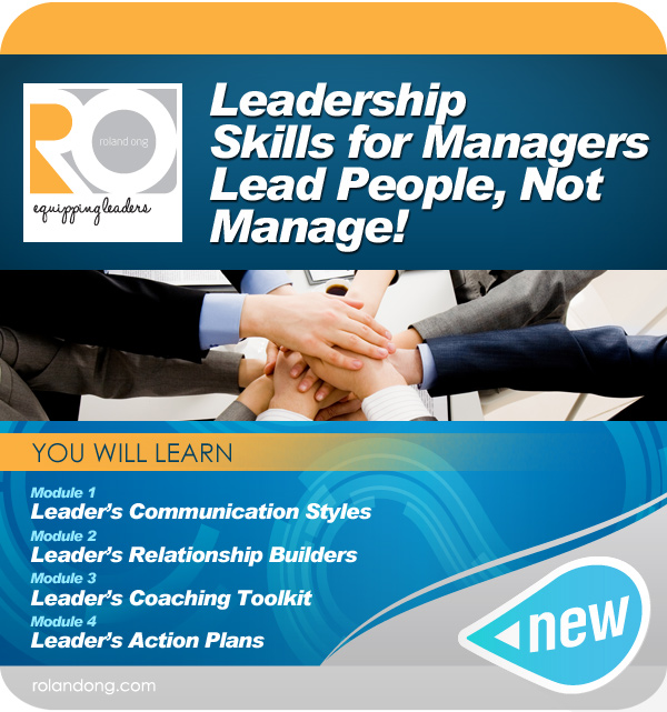 leadership skills for managers Enroll in our leadership skills for managers & supervisors course today and develop skills critical to every new manager or supervisor.
